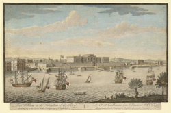Fort William in the Kingdom of Bengal belonging to the East India Company of England 464